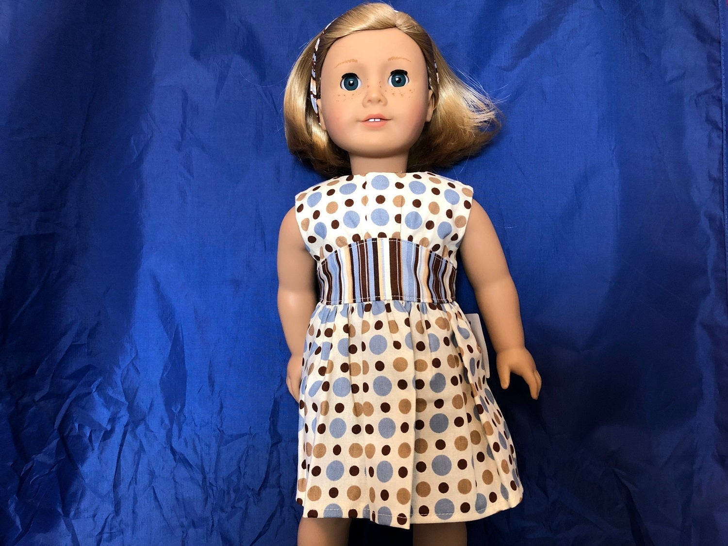 """Lavender Duc Shoes made fits 18/"""" American Girl Doll Clothes"""