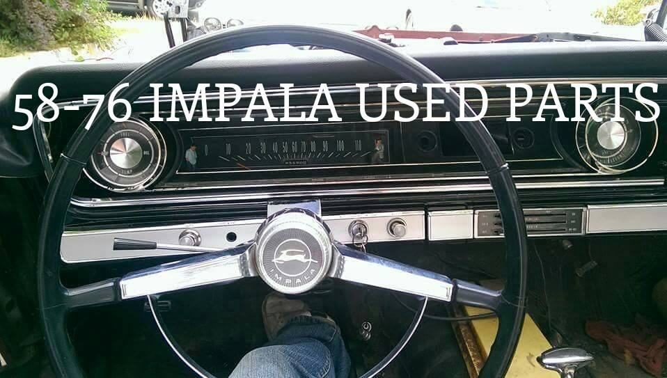 Impala Mac (Chevy Impala Used Parts 58-76)